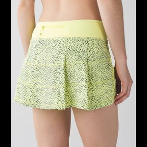 ⭐️NWT Lululemon Pace Rival II Skirt Size 6